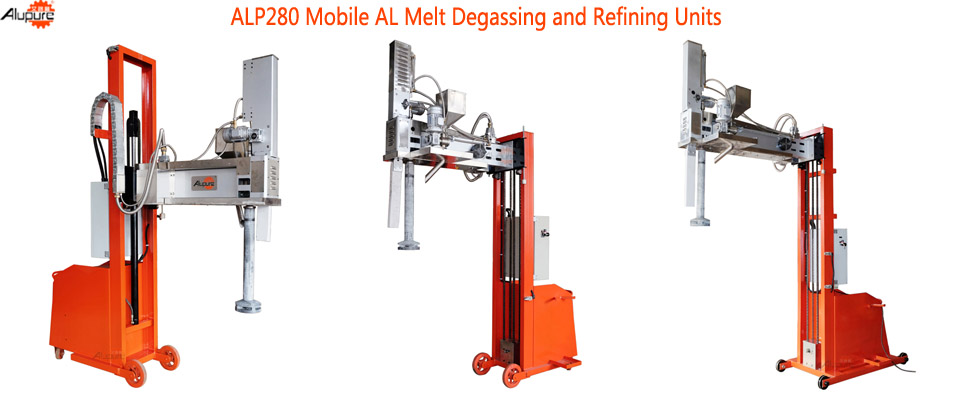 ALP280 Degassing  and  Refining Device